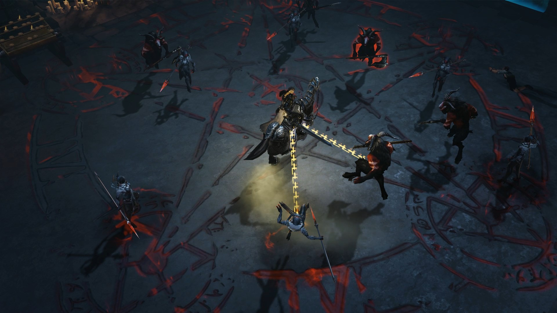 Screenshot de Diablo Immortal.