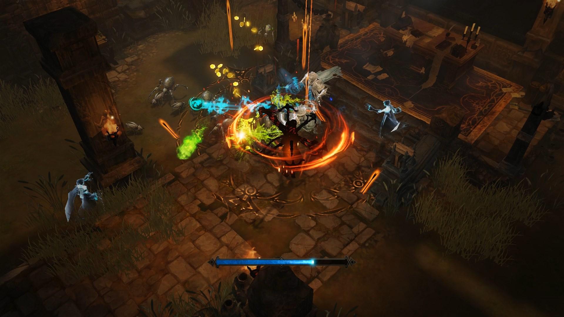 Screenshot de Diablo Immortal.
